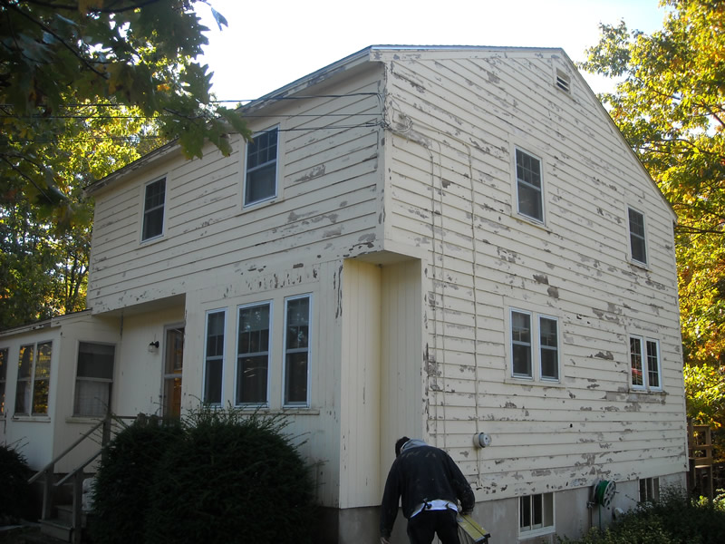 Before-Over 30 Years of Experience In Painting & Roof Restorations