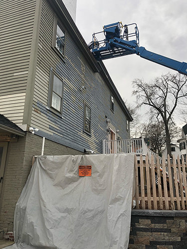 Residential Painting Service - Historic Colonial House